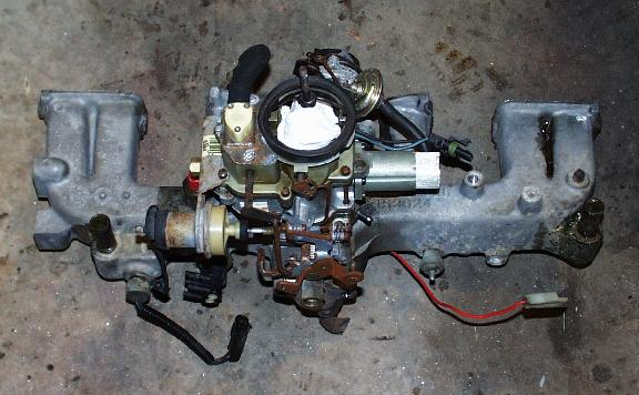 Would A 2bbl 258 Intake Fit On My 232 Page 2